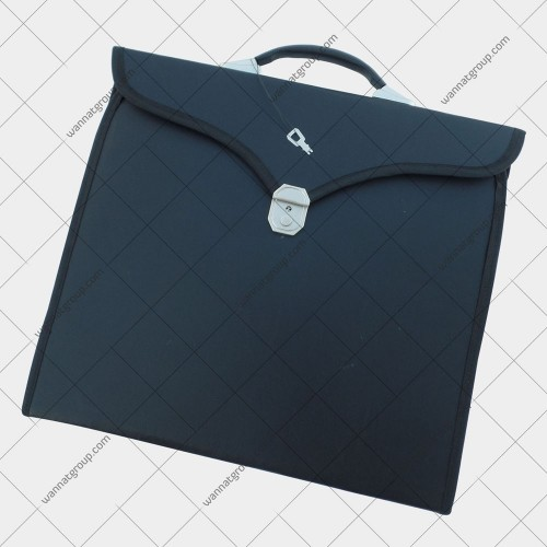 Masonic Apron File Case Black