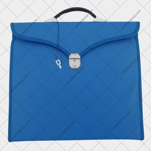 Masonic Apron File Case Blue