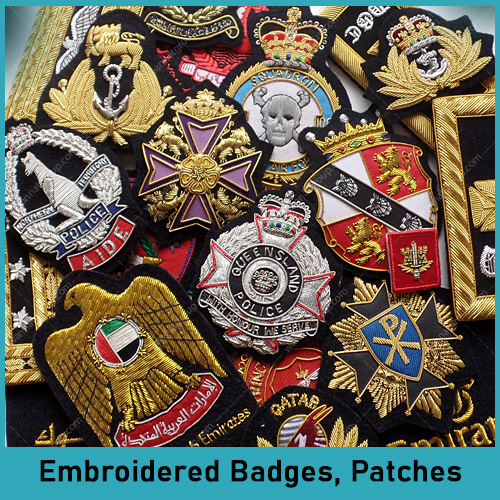 Embroidered Badges - Patches