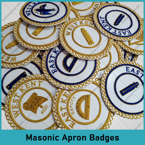 Masonic Apron Badges
