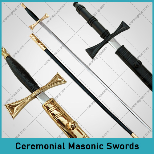 Ceremonial Masonic Swords