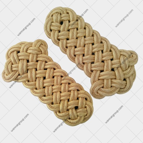 Uniform Cord Shoulder Boards (Gold)