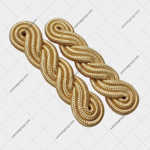 3 Twist Gold Shoulder Cords