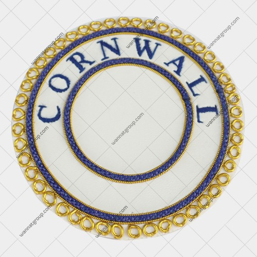 Craft Provincial Un Dress Apron Badge Blue Province CORNWALL