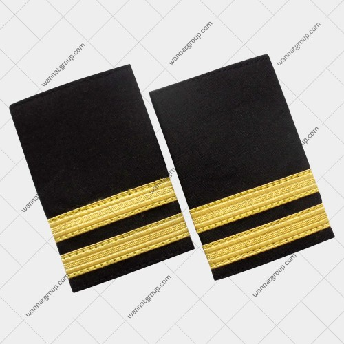 Pilot Uniform Epaulette Two Bars - Second Officer