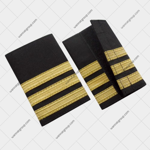 Pilot Uniform Epaulette Three Bars - First Officer