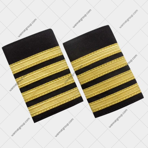 Pilot Uniform Epaulette Four Bars - Captain
